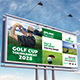 Golf Tournament Billboard Template