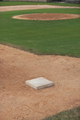 Baseball Infield Shot from Third Base Side