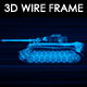 Tank N1 3D Wire Frame