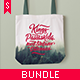 Canvas Tote Bag Mock-up Bundle