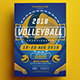 Volleyball Championship Flyer - GraphicRiver Item for Sale