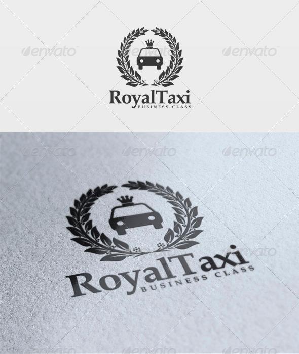Royal Taxi Logo - Objects Logo Templates