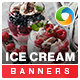Ice Cream Banners - GraphicRiver Item for Sale