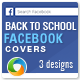 Back To School Facebook Covers - 3 Designs