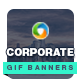 Corporate Animated GIF Banners - GraphicRiver Item for Sale
