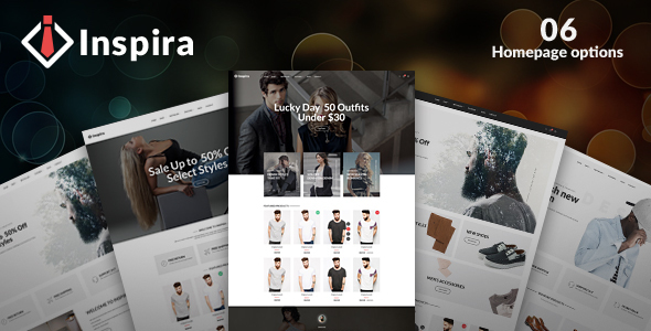 Image of Inspira - Multipurpose Responsive eCommerce Template