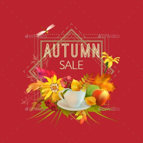 Autumn Sale Design - Seasons Nature