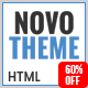 NovoTheme - One Page Multipurpose HTML5 Template - ThemeForest Item for Sale