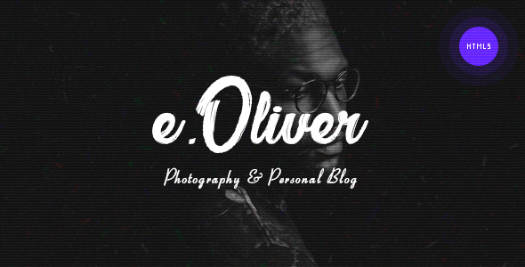 Image of Oliver – Photography & Personal Blog HTML5 Template