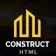 Construct - Construction Company & Building Business HTML5 Template - ThemeForest Item for Sale