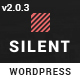 Silent - One Page Multipurpose WordPress Theme - ThemeForest Item for Sale