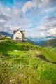 Beautiful Swiss Alps landscape