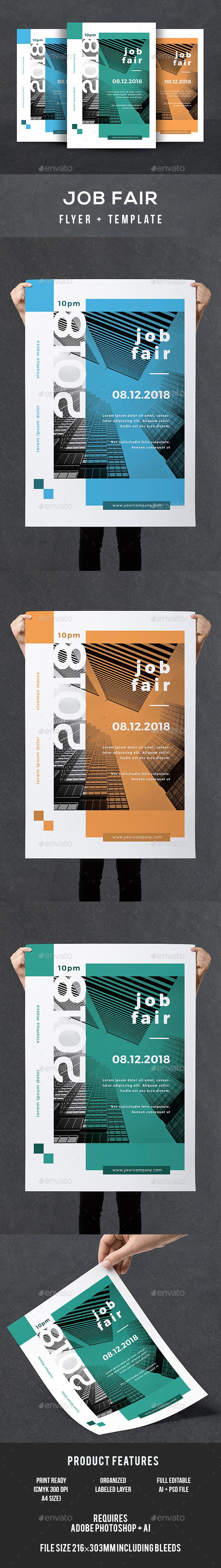 Job Fair Flyer - Corporate Flyers