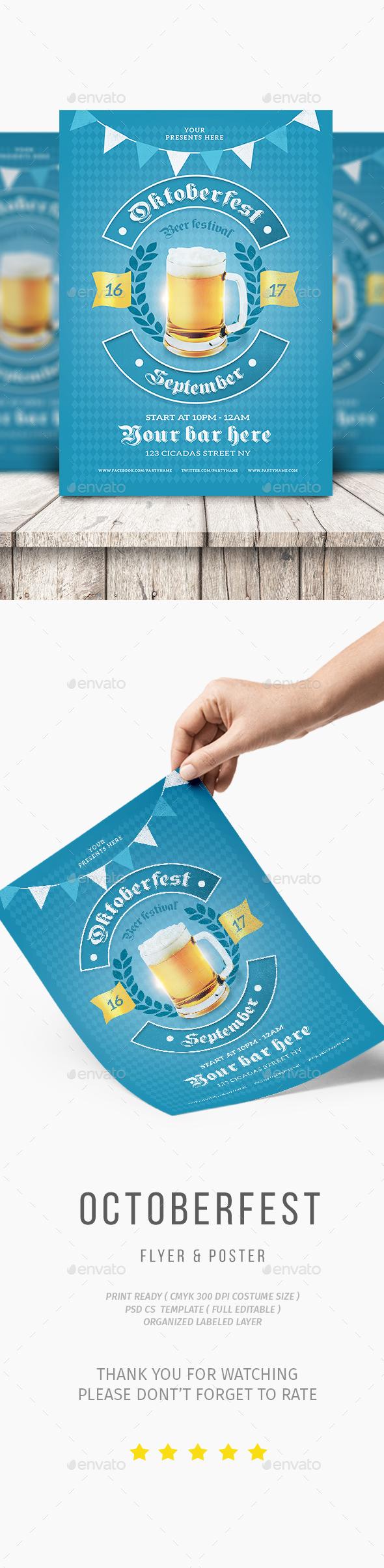 GraphicRiver Oktoberfest Flyer 20492049