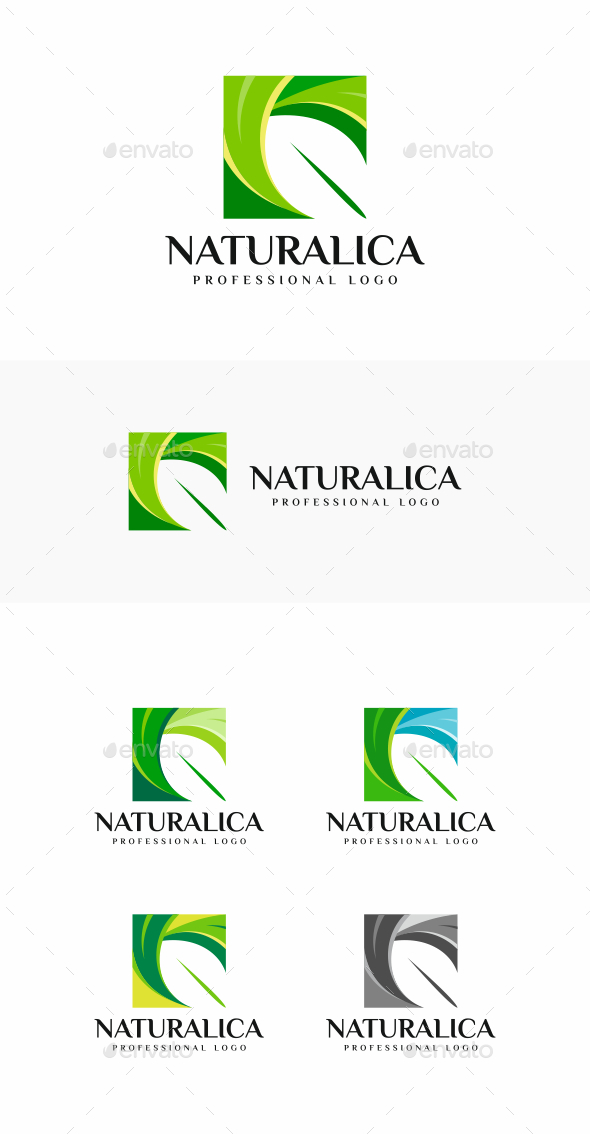 Leaf - Nature Logo Templates