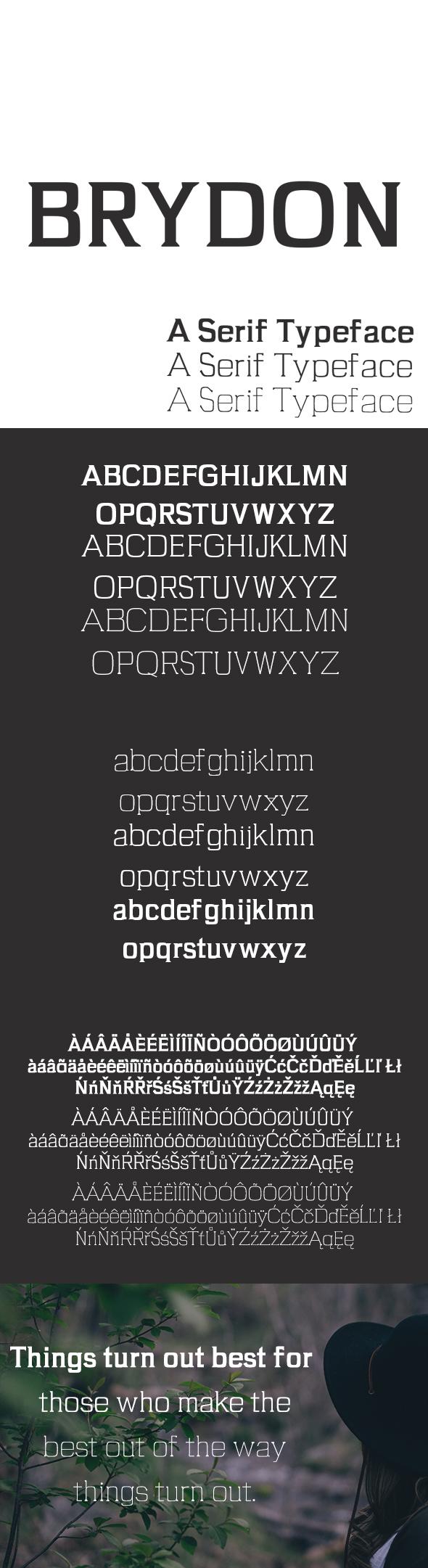 GraphicRiver Brydon Serif Typeface 20492097