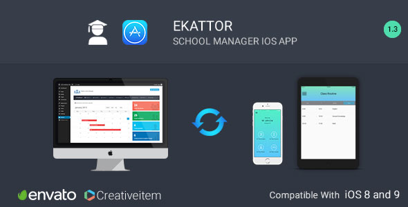 Ekattor School Manager iOS Application - CodeCanyon Item for Sale
