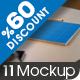 11 Photorealistic Magazine  Mock Up - GraphicRiver Item for Sale