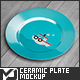 Circle Ceramic Plate Mock-Up - GraphicRiver Item for Sale