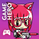 School Girl 2D Game Character Sprites 3 - GraphicRiver Item for Sale