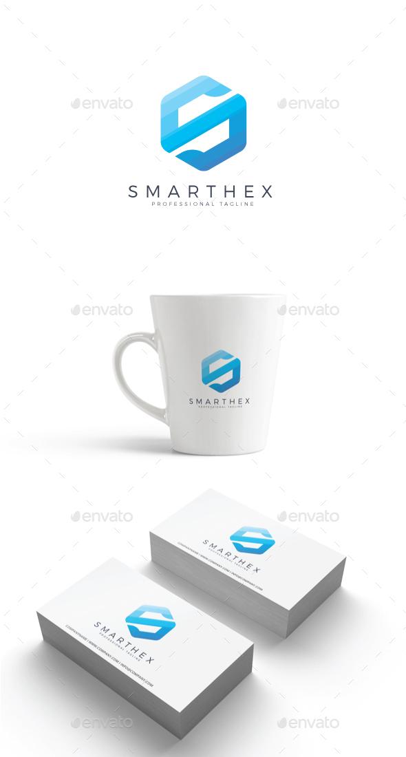 GraphicRiver Smart Hex Logo 20492322