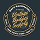 10 Vintage Badges Drawing