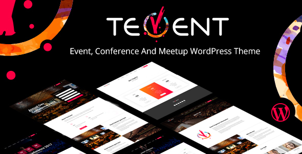 Tevent - Conference & Event WordPress Theme