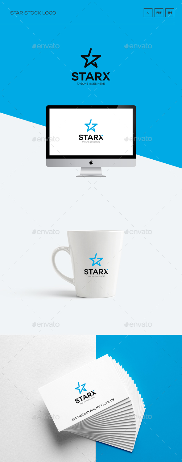 Star Stock Logo - Logo Templates