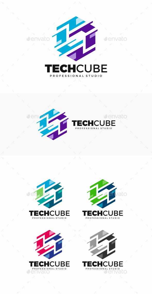 GraphicRiver Hexagon Logo 20492757