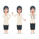 Surprised Female Doctor Pill Medicine Hand - GraphicRiver Item for Sale