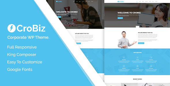 Image of Crobiz - Corporate WordPress Theme