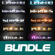 40 Mix Bundle Text Effect Styles V02