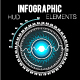 Futuristic Hud Infographics Elements - GraphicRiver Item for Sale