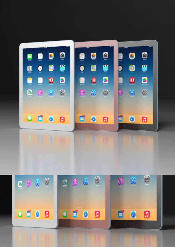 Apple ipad - 3DOcean Item for Sale