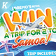 Win A Trip Flyer Templates - GraphicRiver Item for Sale