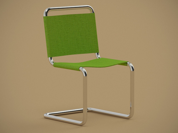 Chair green - 3DOcean Item for Sale