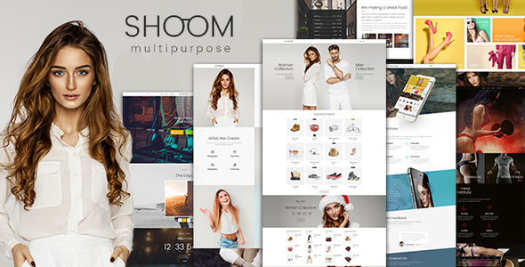 Shoom - Creative Multi-Purpose WordPress Theme