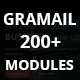 GRAMAIL - Responsive Email Template (200+ Modules) + Stampready Builder - ThemeForest Item for Sale
