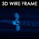 Satellite 3D Wireframe - VideoHive Item for Sale