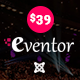 Eventor - Conference & Event Joomla Template - ThemeForest Item for Sale