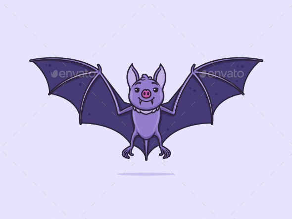Bat - Animals Characters