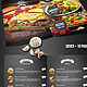 Chef's Bifold Restaurant Menu - A4 and US Letter - GraphicRiver Item for Sale