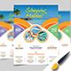 Travel Flyer Design. - GraphicRiver Item for Sale