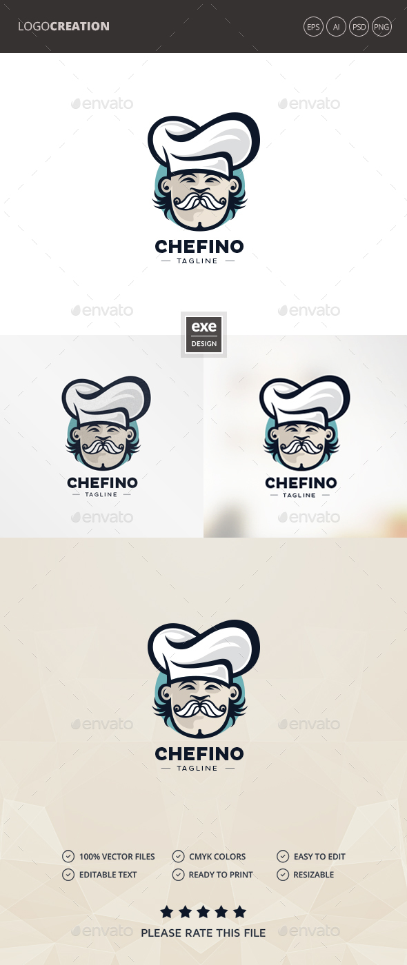 GraphicRiver Chef Logo 20493867