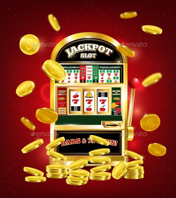 Slot Machine Poster - Sports/Activity Conceptual