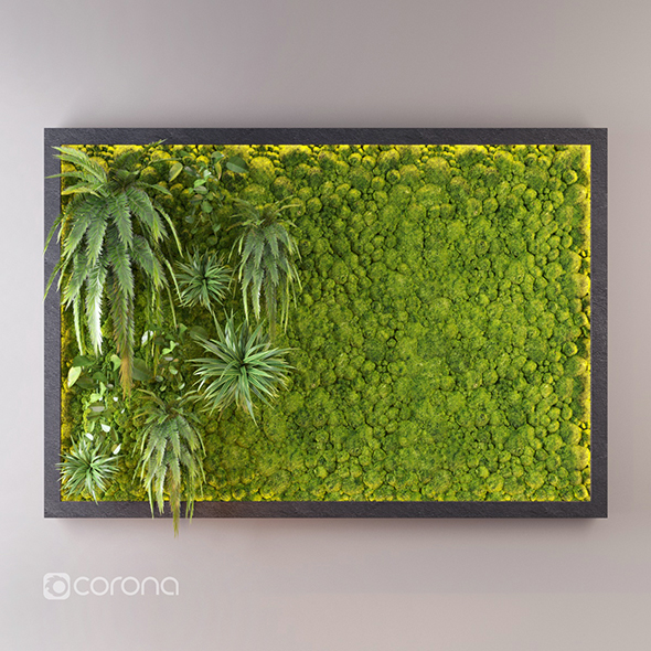 3DOcean Fito wall with moss 20493946