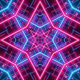 Abstract Grid Loop Background