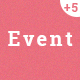 Eventplus - Events WordPress  Theme - ThemeForest Item for Sale