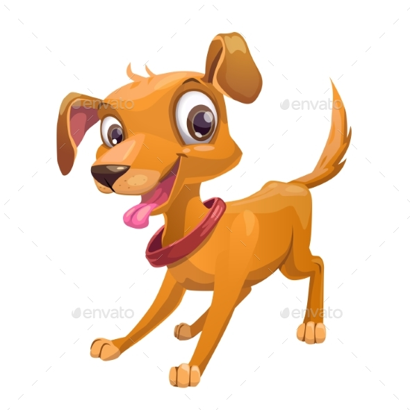 GraphicRiver Cartoon Dog 20494063