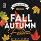 Fall / Autumn Festival Flyer